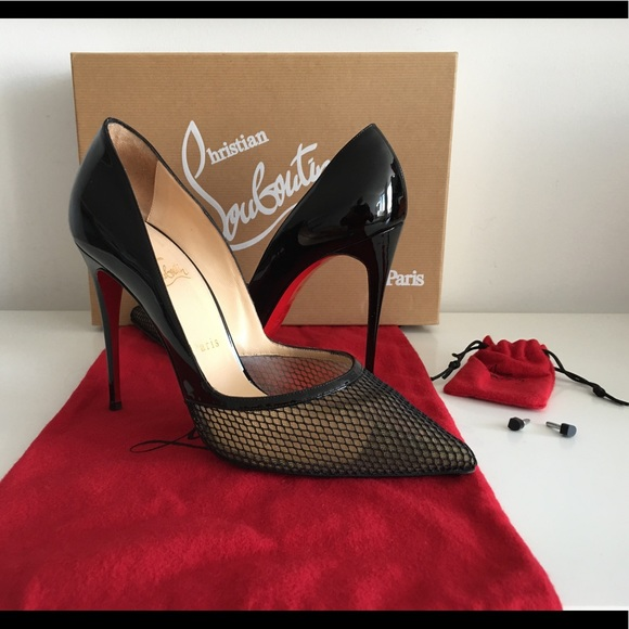 8fea02b90c9 Christian Louboutin Shoes - CHRISTIAN LOUBOUTIN MILUNA BLACK PATENT LEATHER